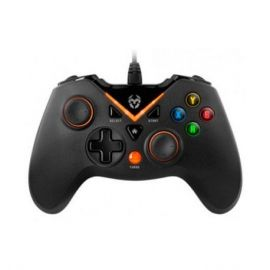 GAMEPAD KROM KEY PC PS3 NEGRO/NARANJA