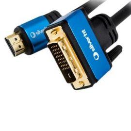 CABLE SILVER HT HIGH END HDMI - DVI MACHO MACHO 3M