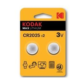 KODAK PILA BOTON LITIO CR2025 ULTRA 2UND