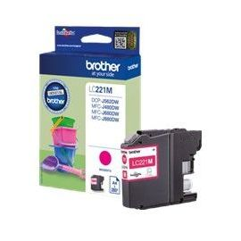CARTUCHO TINTA BROTHER LC221M MAGENTA 260