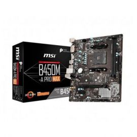 PLACA BASE MSI AM4 B450M A-PRO MAX