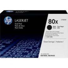 TONER LASERJET HP 80X CF280XD NEGRO 2 UND