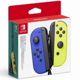 GAMEPAD NINTENDO SWITCH JOY CON AZUL/AMARILLO NEON