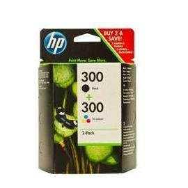CARTUCHO TINTA HP 300 NEGRO + 300 TRICOLOR