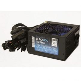 FUENTE DE ALIMENTACION COOLBOX POWERLINE BLACK 600W