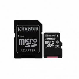 TARJETA DE MEMORIA MICRO SDXC KINGSTON 128GB + ADAPT