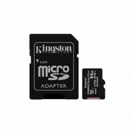TARJETA DE MEMORIA MICRO SDXC KINGSTON 64GB +ADAPT