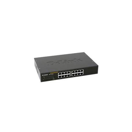 SWITCH 16 PUERTOS 10 100 1000 MB TP LINK DGS1016D