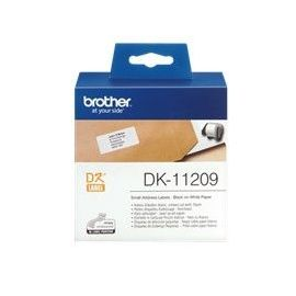 ETIQUETAS PAPEL PRECORTADA BROTHER DK11209 29