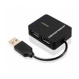 HUB USB CONCEPTRONIC 4 PUERTOS USB 2.0
