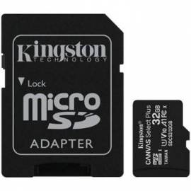 TARJETA DE MEMORIA MICRO SD HC KINGSTON 32GB + ADAPT
