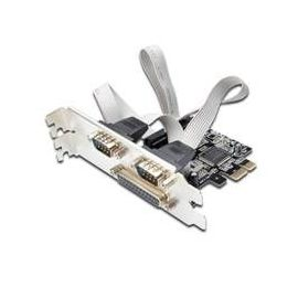 TARJETA PCI-E 2 PUERTOS SERIE + 1 PARALELO EW1158