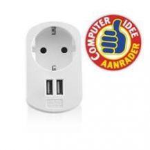 CARGADOR USB EWENT 2 PUERTOS 155W