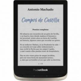 "POCKETBOOK COLOR EREADER 6"" 16GB PLATA"
