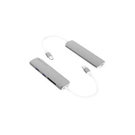 HUB MINI USB TIPO C 3/1 HDMI-USB-USB-C