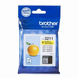 CARTUCHO TINTA BROTHER LC3211Y AMARILLO 200