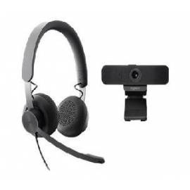 WEBCAM C925E + AURICULARES LOGITECH ZONE WIRED