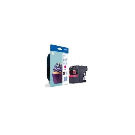 CARTUCHO TINTA BROTHER LC123M MAGENTA 600