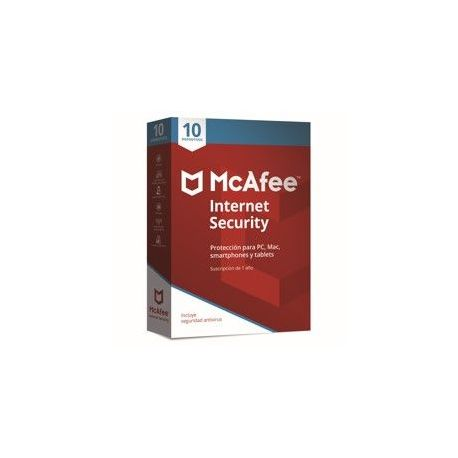 ANTIVIRUS MCAFEE INTERNET SECURITY 2018 10 DISPOSITIVOS