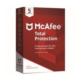 ANTIVIRUS MCAFEE TOTAL PROTECTION 2018 5 DISPOSITIVOS
