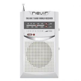RADIO NEVIR BOLSILLO NVR-136 PLATA