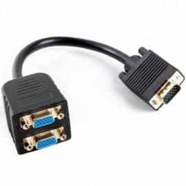 ADAPTADOR VGA VGA X2 LAMBERG 20CM