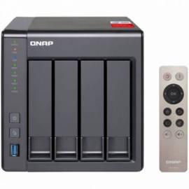 NAS SERVIDOR QNAP TS 451 + 2GB BAHIAS 4