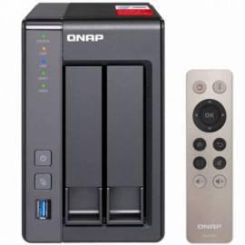 NAS SERVIDOR QNAP TS 251 + 2GB BAHIAS 2