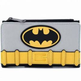CARTERA LOUNGEFLY DC BATMAN LOGO BATMAN
