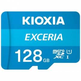 TARJETA DE MEMORIA MICRO SD KIOXIA 128GB + ADAPT