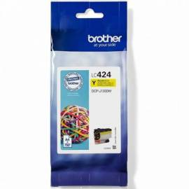 CARTUCHO TINTA BROTHER LC424Y AMARILLO 750