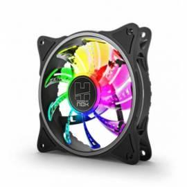 VENTILADOR CAJA NOX H FAN LED 120MM RGB