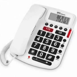 TELEFONO FIJO PANTALLA MANOS LIBRES TECLAS GRANDES