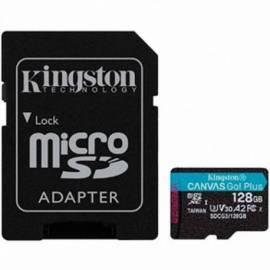 TARJETA DE MEMORIA MICRO SD KINGSTON 128GB + ADAPT