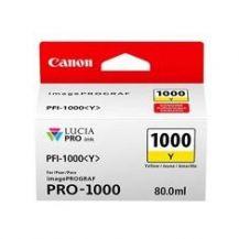CARTUCHO TINTA CANON PFI-1000Y AMARILLO PRO-1000