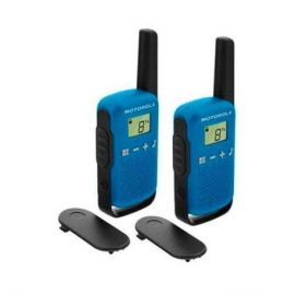 WALKIE-TALKIE MOTOROLA TLKR-T42 AZUL PACKS 2