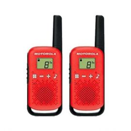 WALKIE-TALKIE MOTOROLA TLKR-T42 ROJO PACKS 2