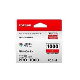 CARTUCHO TINTA CANON PFI-1000R ROJO PRO-1000
