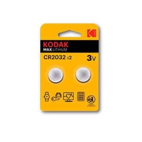 KODAK PILA BOTON LITIO CR2032 ULTRA 2UND