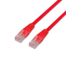 CABLE RED UTP CAT6 RJ45 AISENS 0.5M ROJO
