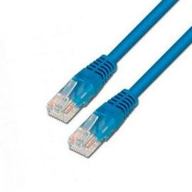 CABLE RED UTP CAT6 RJ45 AISENS 0.5M AZUL