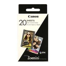 PAPEL FOTOGRAFICO CANON ZP-2030 20 HOJAS