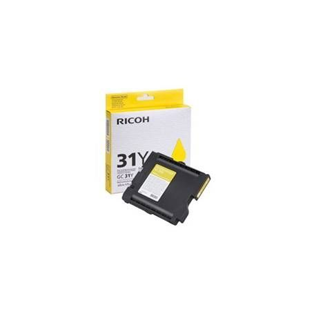 CARTUCHO GEL RICOH 405691 AMARILLO GC-31Y