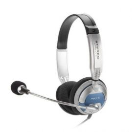 AURICULARES CON MICRO NGS MSX6PRO PLATA/NEGRO