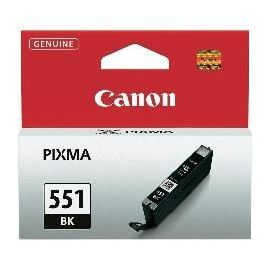 CARTUCHO TINTA CANON CLI-551BK NEGRO MG6350