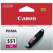 CARTUCHO TINTA CANON CLI-551 MAGENTA MG6350