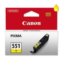 CARTUCHO TINTA CANON CLI-551Y AMARILLO MG6350
