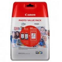 CARTUCHO TINTA CANON PG-545XL + CL-546 XL + PAPEL