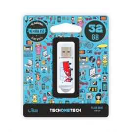 PENDRIVE 32GB USB2.0 TECH ONE
