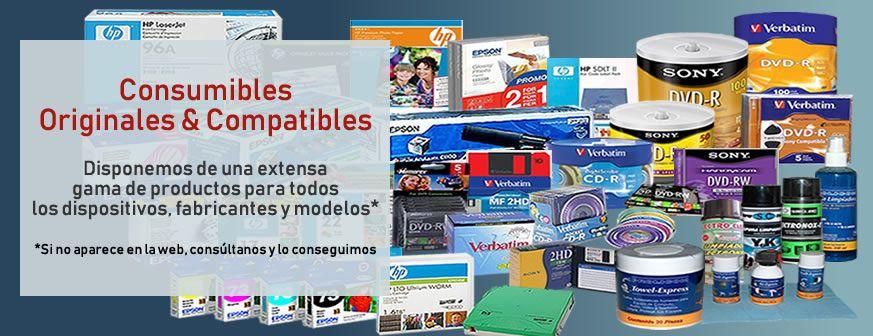 Consumibles Originales y Compatibles